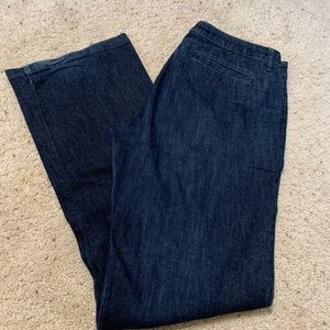 Banana Republic denim trousers